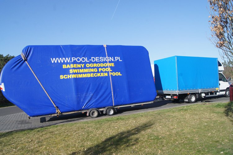 Transport i roz adunek producent pool design company for Pool design company polen